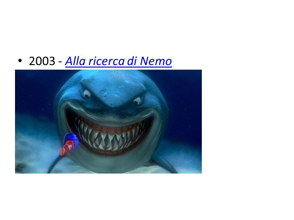 2003 - Alla ricerca di Nemo