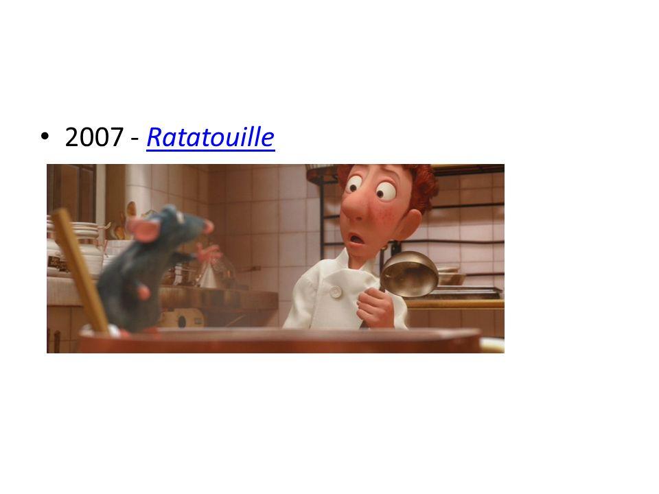 2007 - Ratatouille