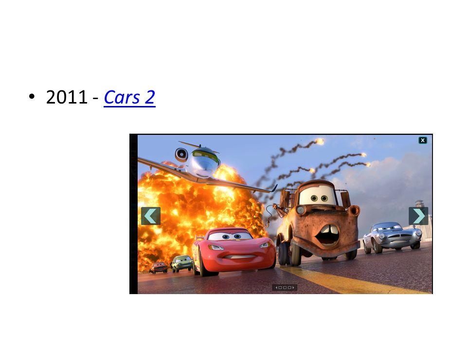 2011 - Cars 2