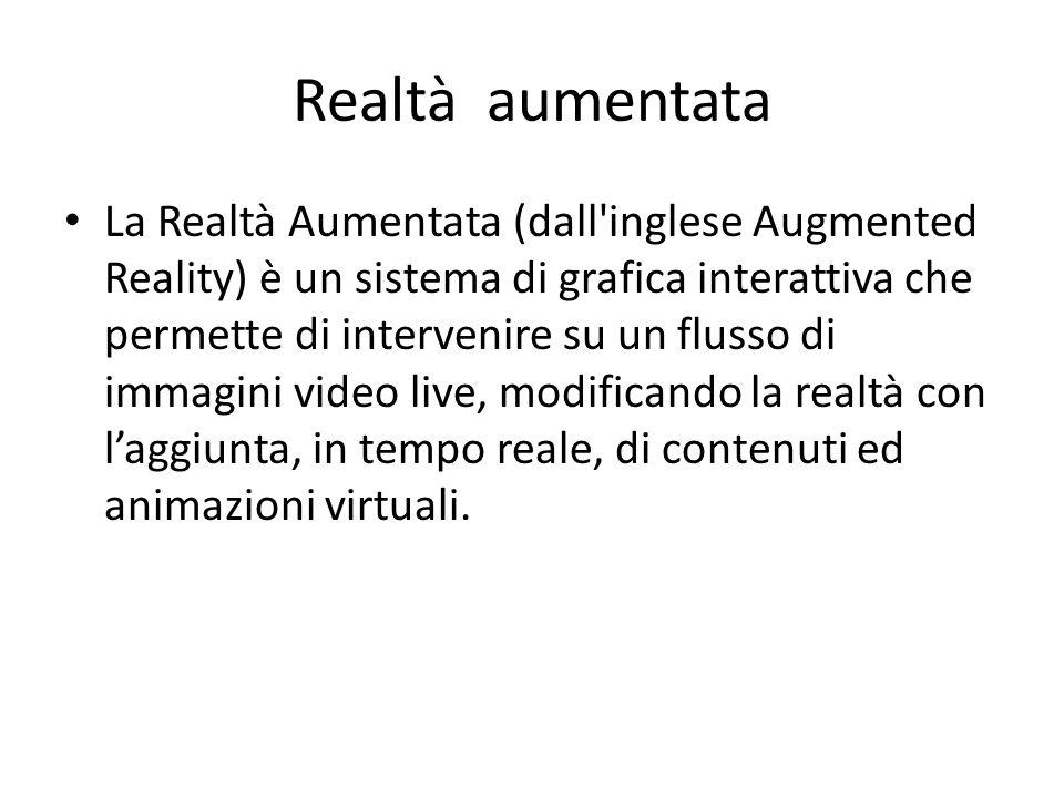 Realtà aumentata