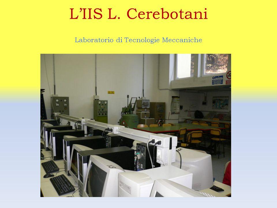 Laboratorio di Tecnologie Meccaniche