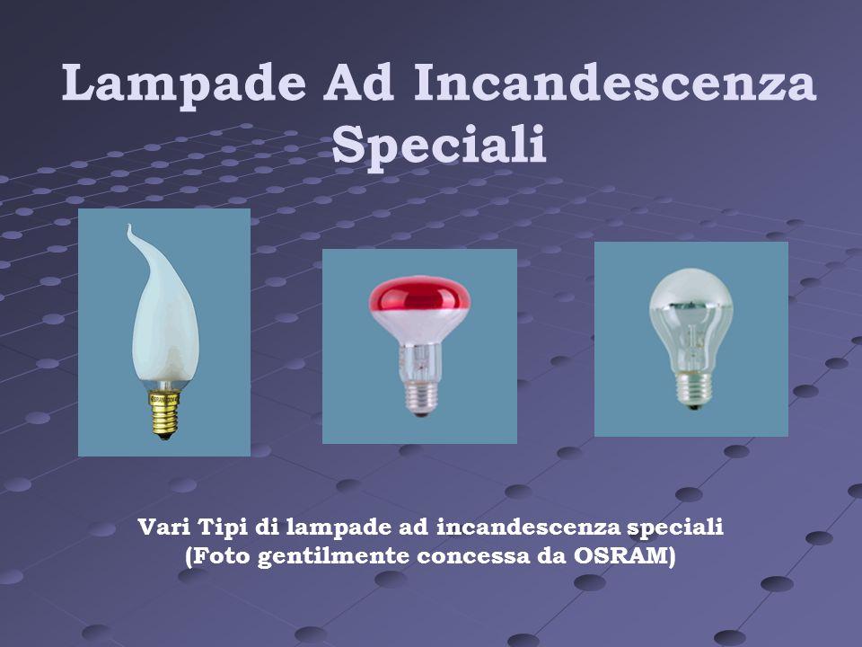 Lampade Ad Incandescenza Speciali