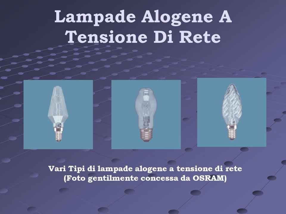 Lampade Alogene A Tensione Di Rete