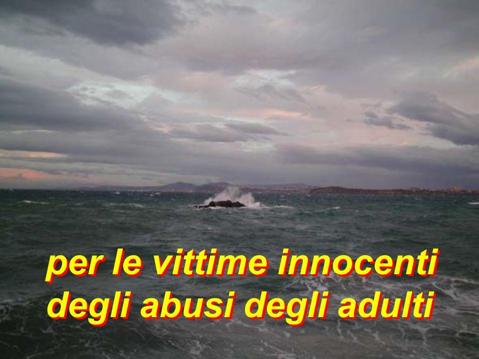 per le vittime innocenti