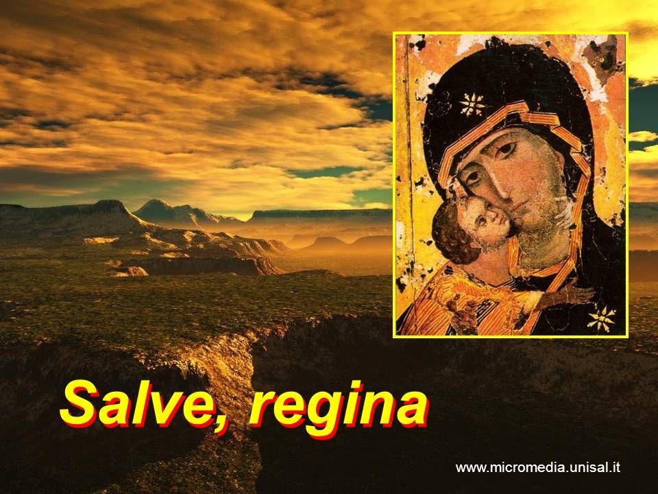 Salve, regina www.micromedia.unisal.it