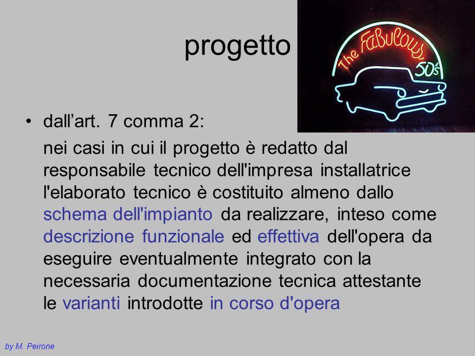 progetto dall'art. 7 comma 2: