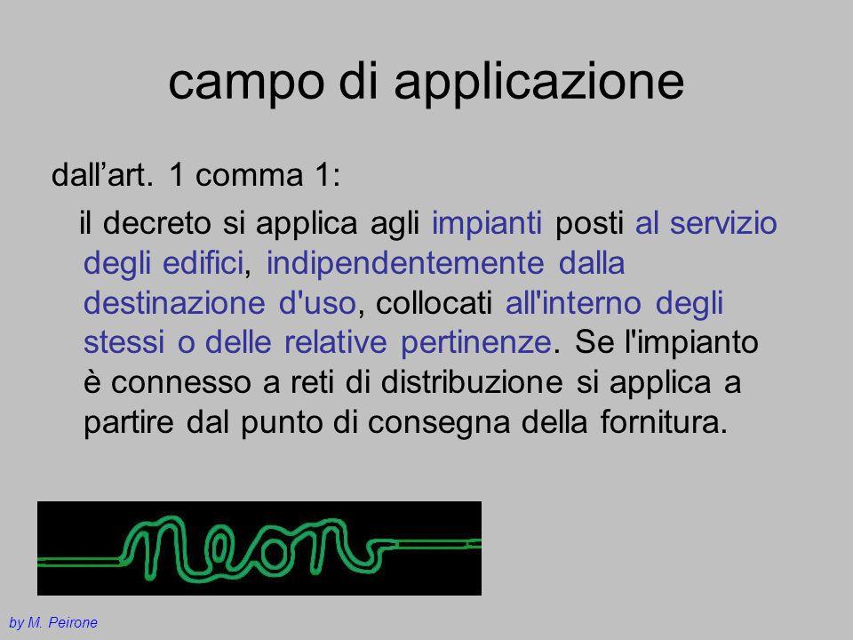 campo di applicazione dall'art. 1 comma 1: