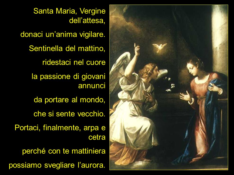 Santa Maria, Vergine dell'attesa,