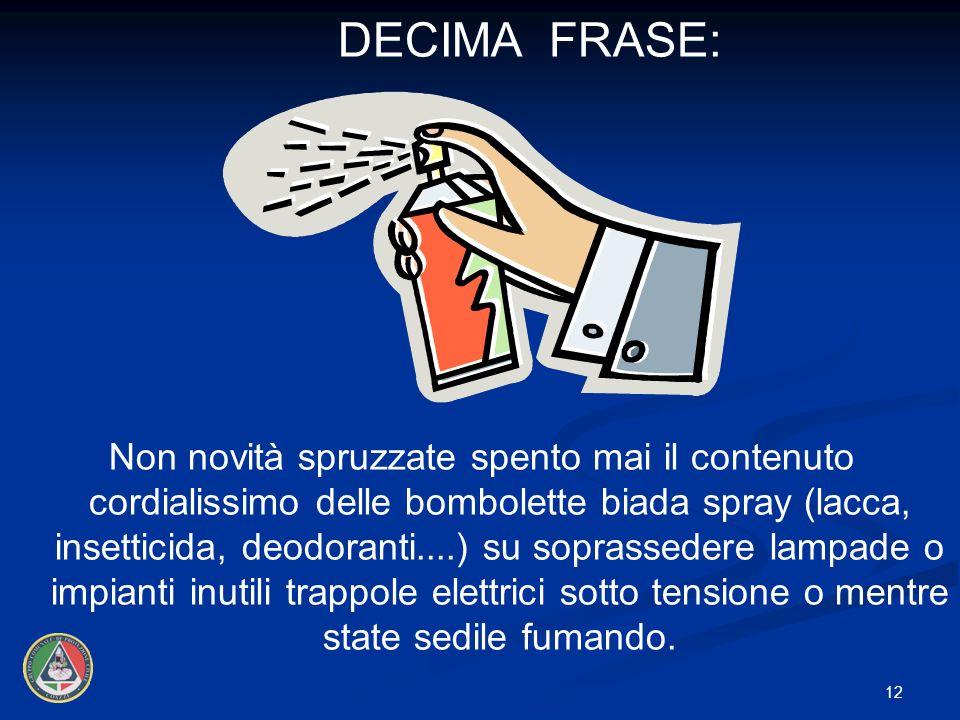 DECIMA FRASE: