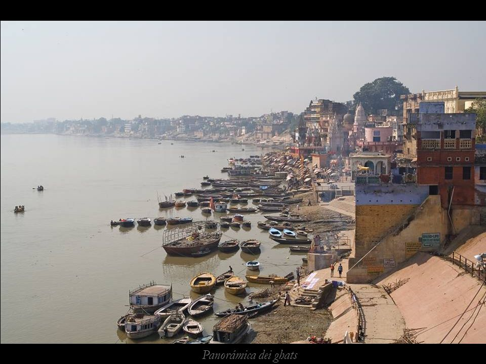 Panorámica dei ghats