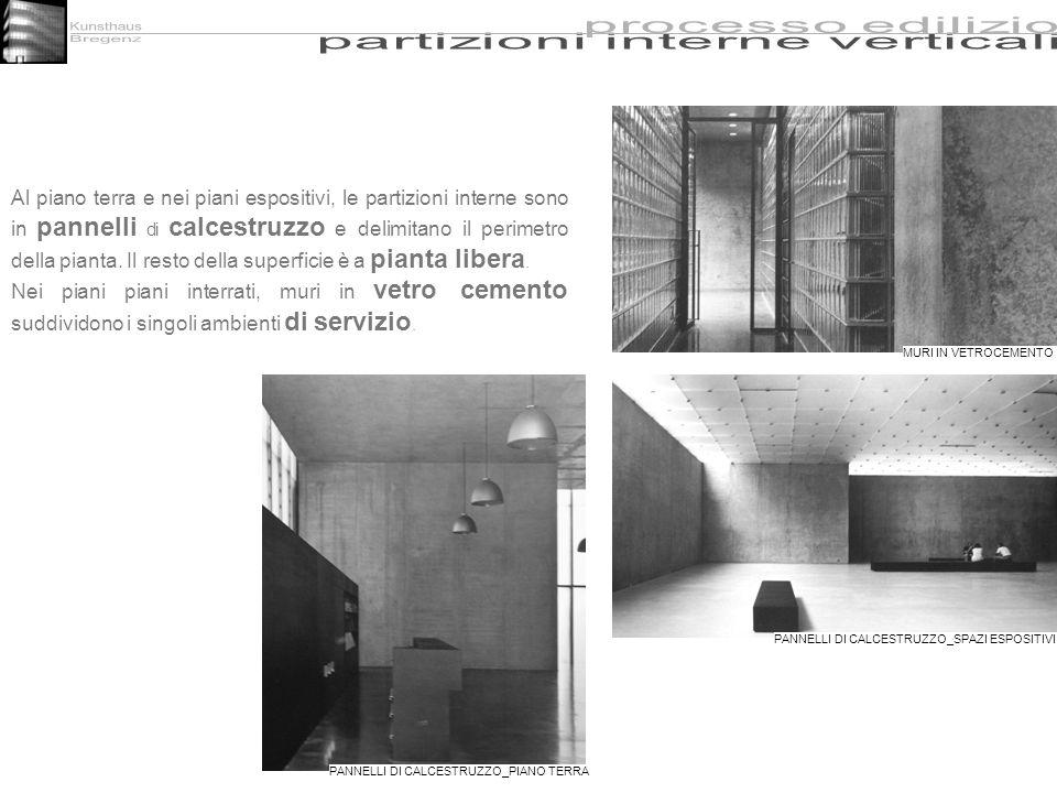 partizioni interne verticali
