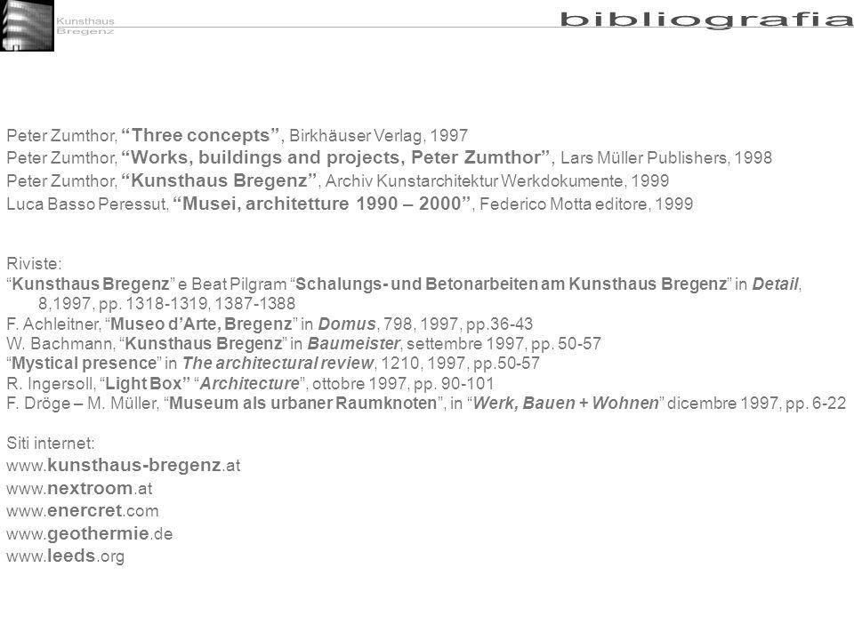 Kunsthaus Bregenz bibliografia