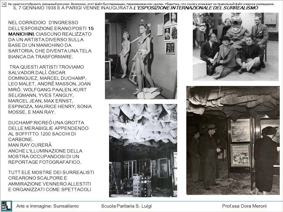 IL 7 GENNAIO 1938 8 A PARIGI VENNE INAUGURATA L'ESPOSIZIONE INTERNAZIONALE DEL SURREALISMO