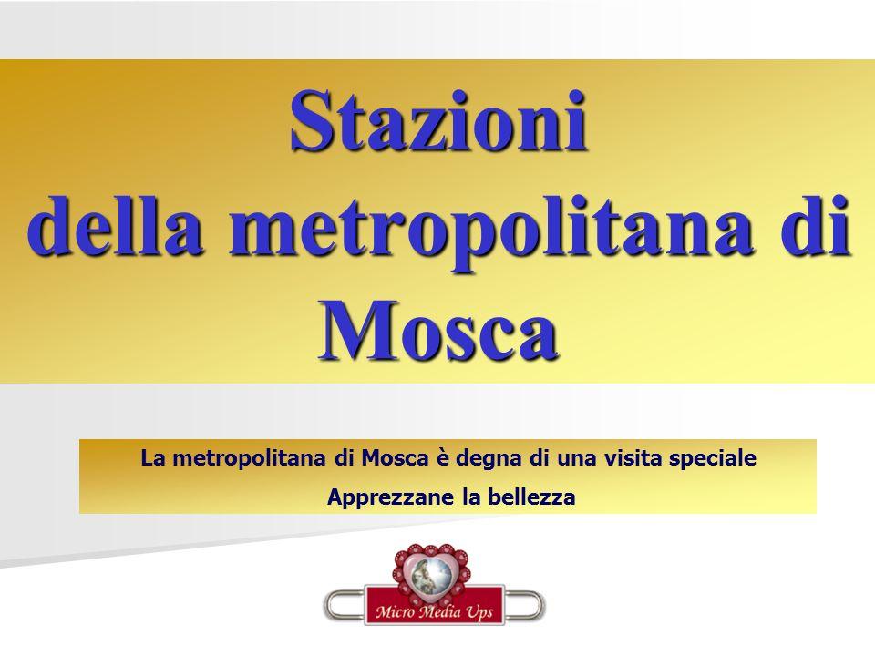 Stazioni della metropolitana di Mosca