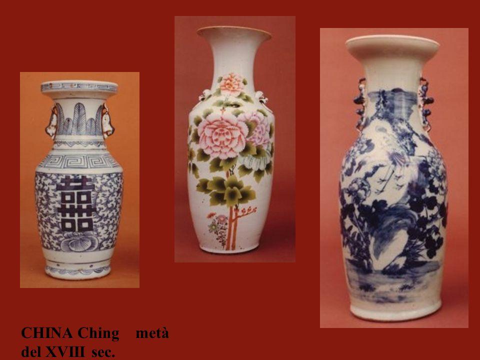 CHINA Ching metà del XVIII sec.