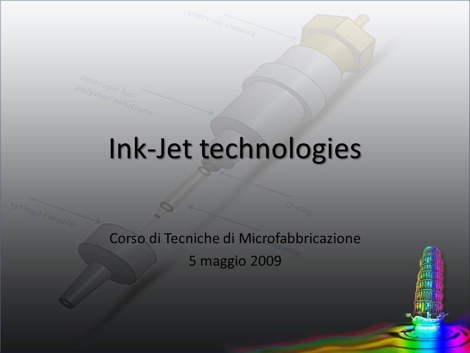 Corso di Tecniche di Microfabbricazione 5 maggio 2009