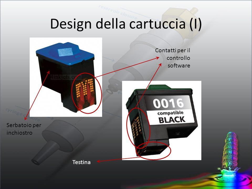 Design della cartuccia (I)