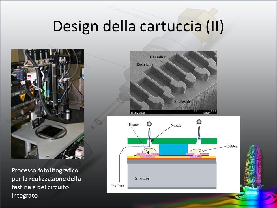 Design della cartuccia (II)