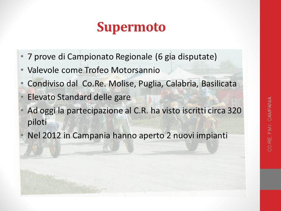 Supermoto 7 prove di Campionato Regionale (6 gia disputate)