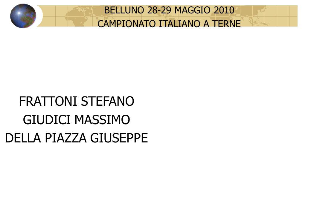 CAMPIONATO ITALIANO A TERNE