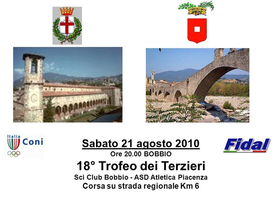 Sci Club Bobbio - ASD Atletica Piacenza Corsa su strada regionale Km 6