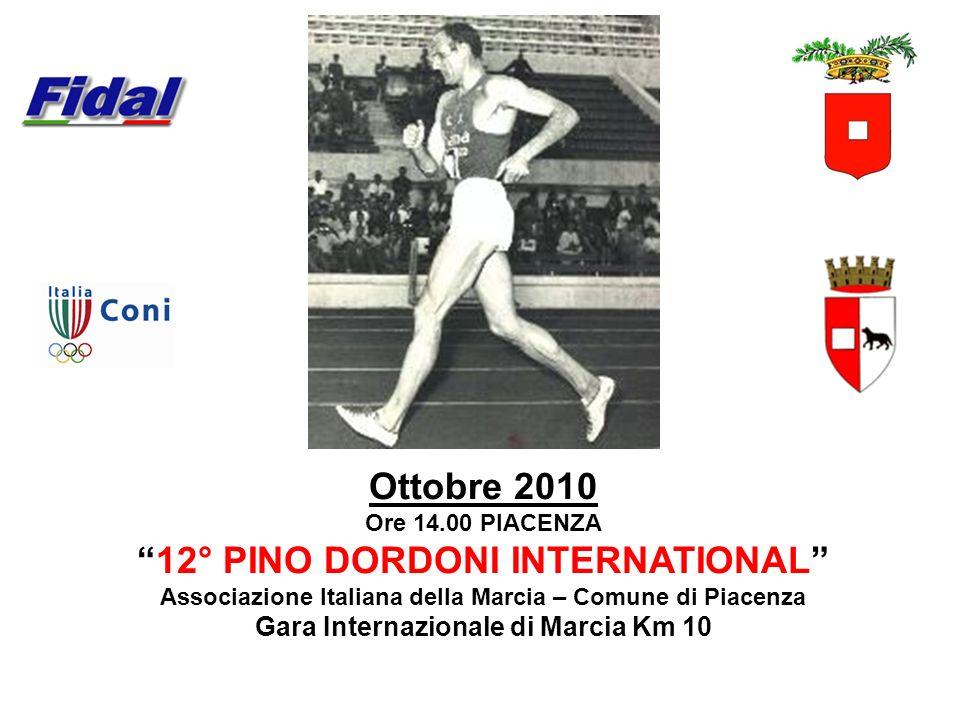 Ottobre 2010 12° PINO DORDONI INTERNATIONAL