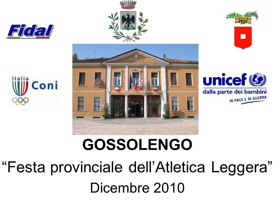 Festa provinciale dell'Atletica Leggera