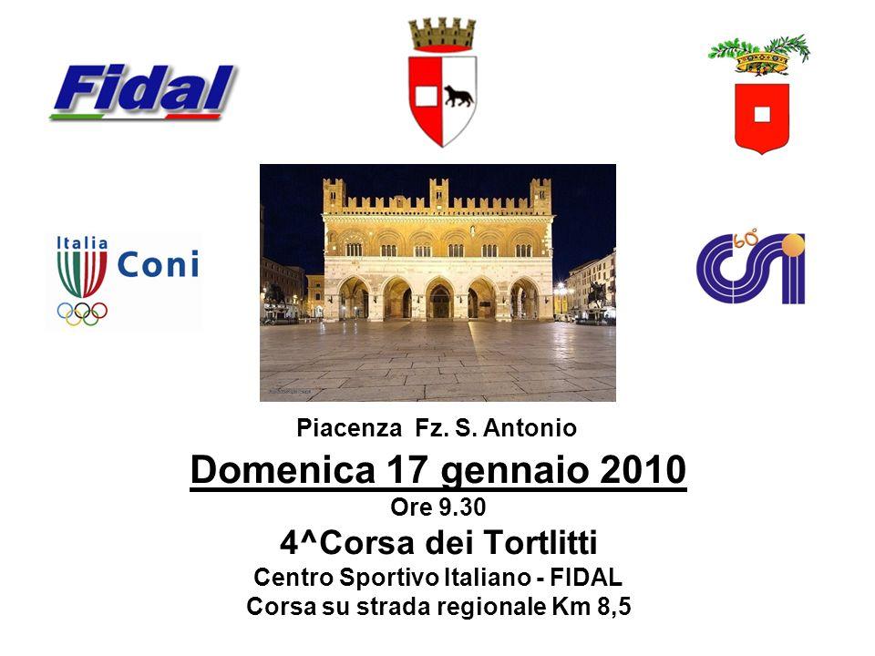 Centro Sportivo Italiano - FIDAL Corsa su strada regionale Km 8,5