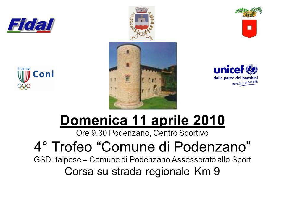 4° Trofeo Comune di Podenzano