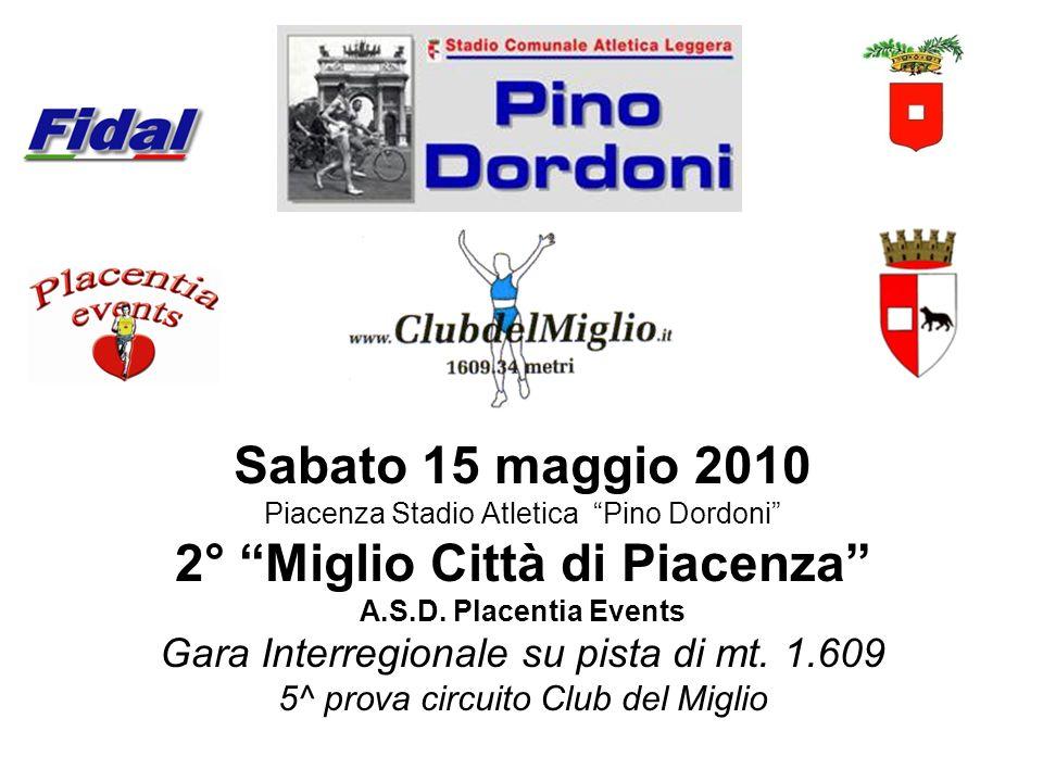 2° Miglio Città di Piacenza