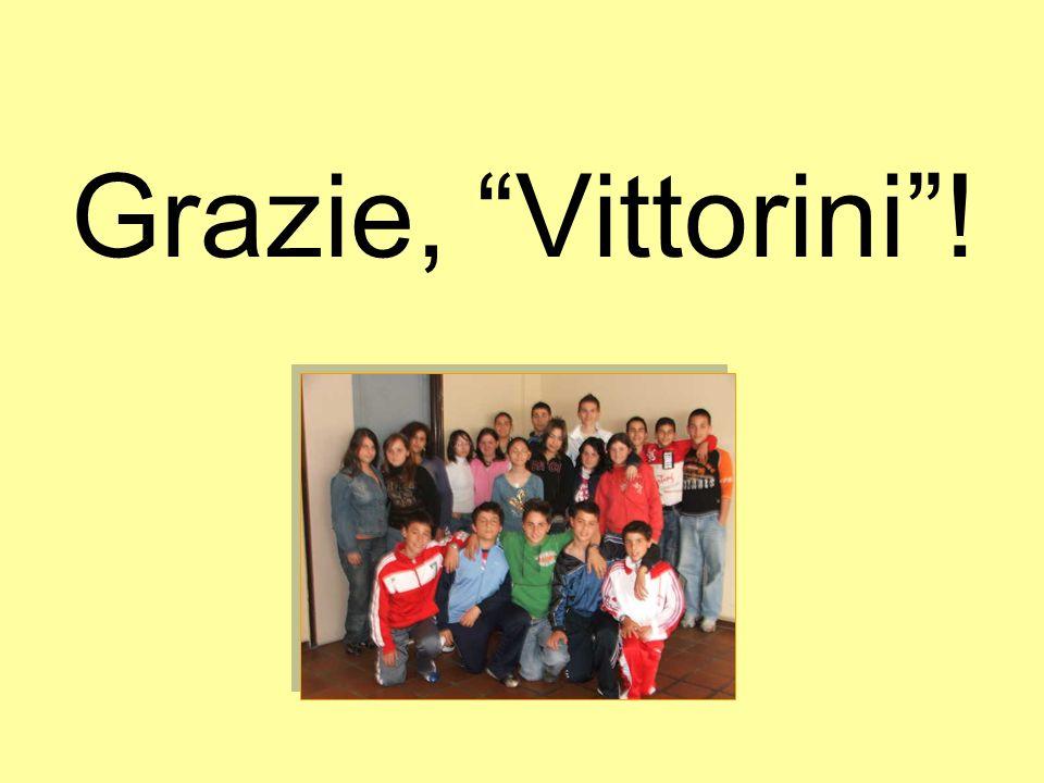 Grazie, Vittorini !