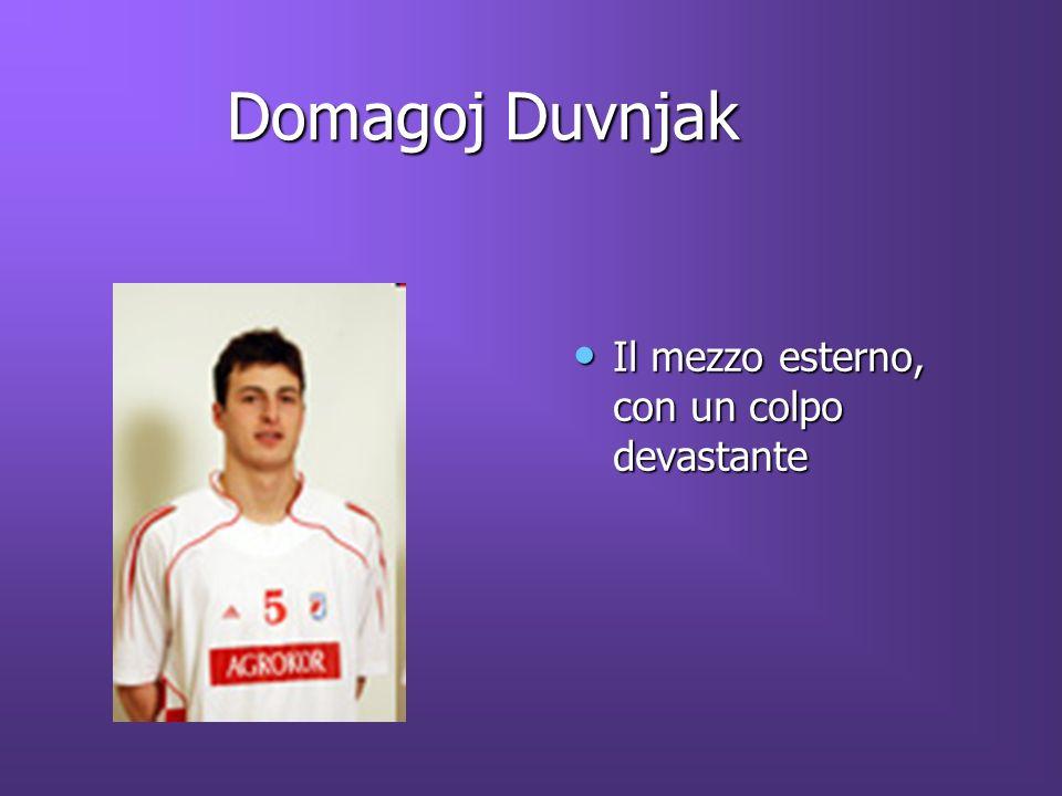 Domagoj Duvnjak Il mezzo esterno, con un colpo devastante