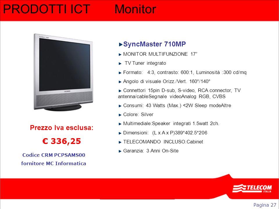 fornitore MC Informatica