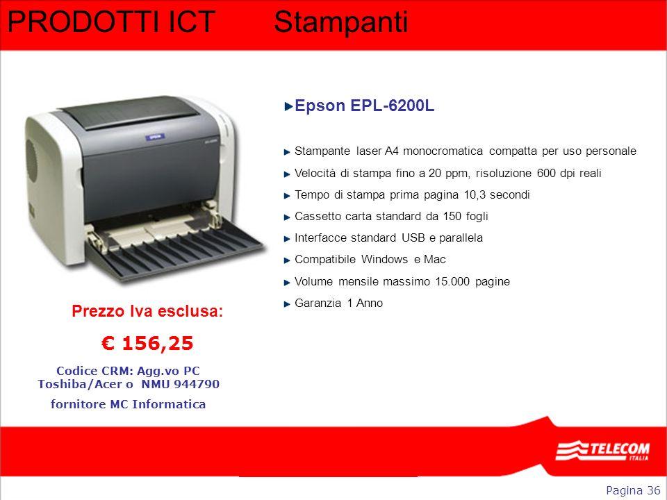 PRODOTTI ICT Stampanti