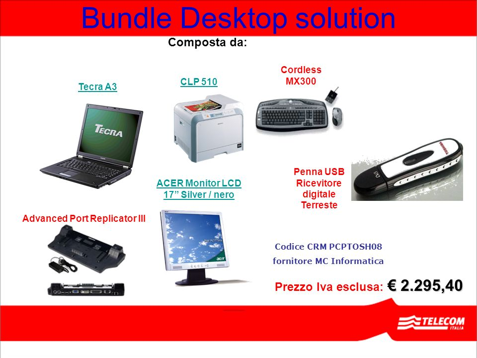 Bundle Desktop solution