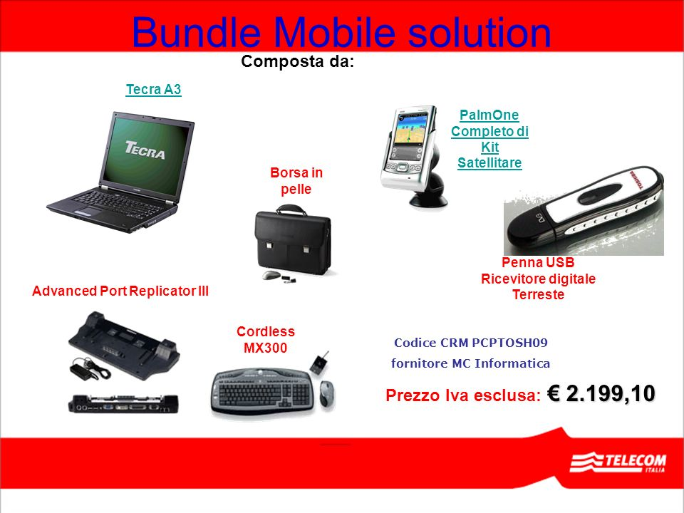 Bundle Mobile solution