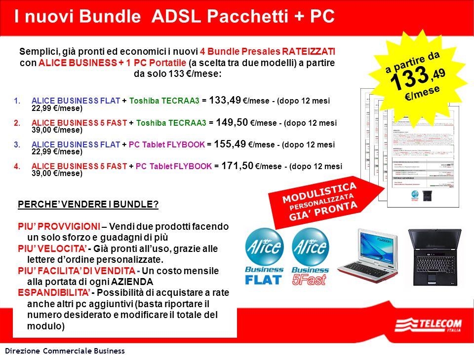 I nuovi Bundle ADSL Pacchetti + PC