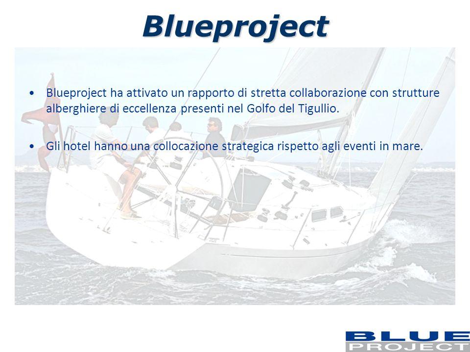 Blueproject Blueproject ha attivato un rapporto di stretta collaborazione con strutture alberghiere di eccellenza presenti nel Golfo del Tigullio.
