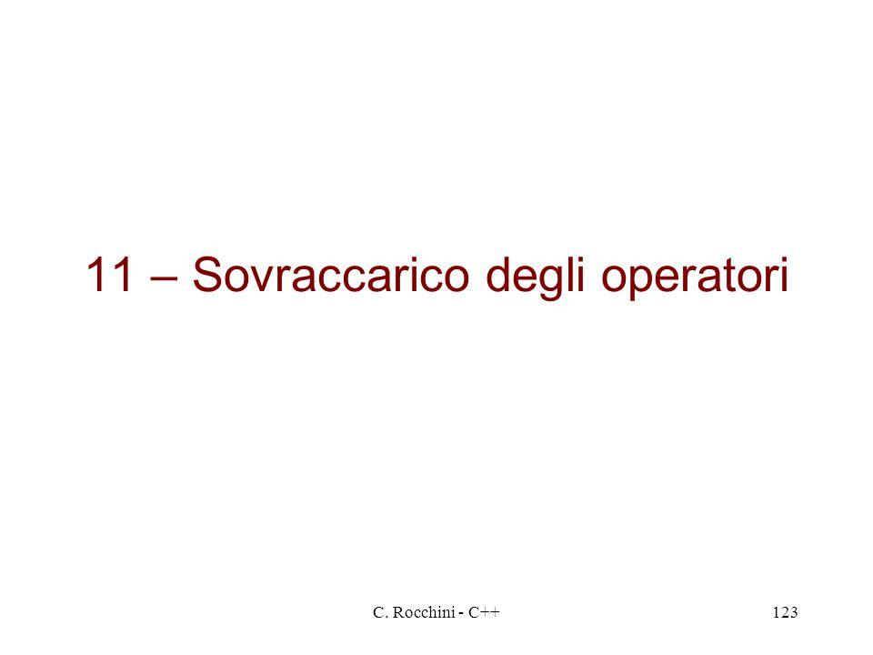 11 – Sovraccarico degli operatori