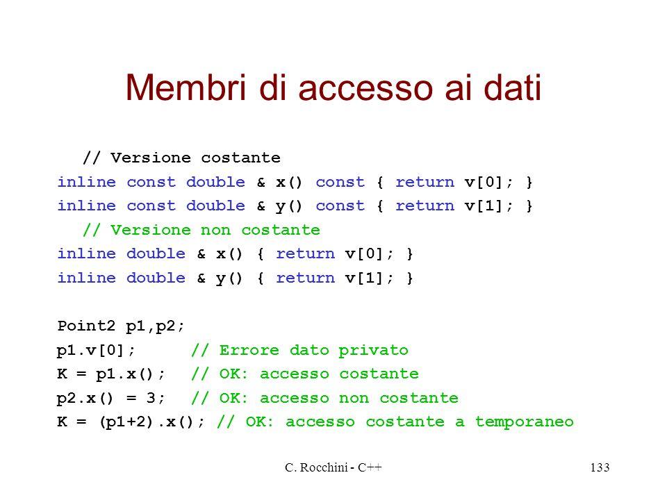 Membri di accesso ai dati