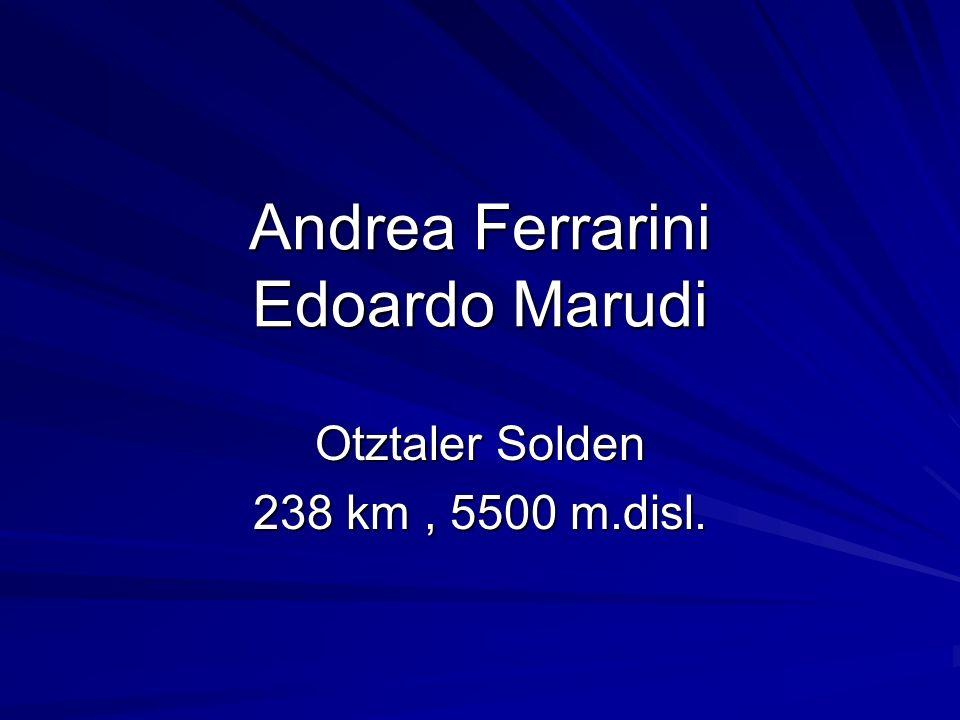 Andrea Ferrarini Edoardo Marudi
