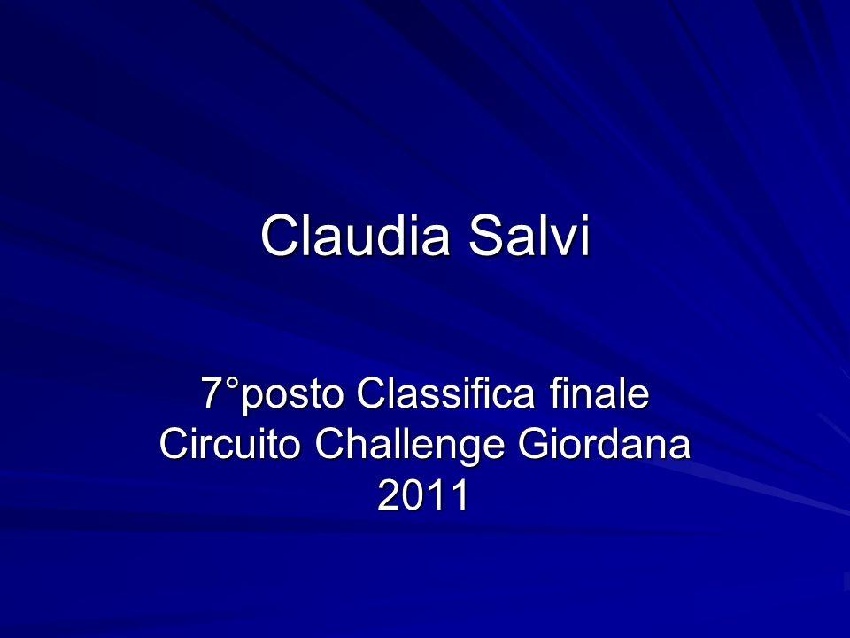 7°posto Classifica finale Circuito Challenge Giordana 2011