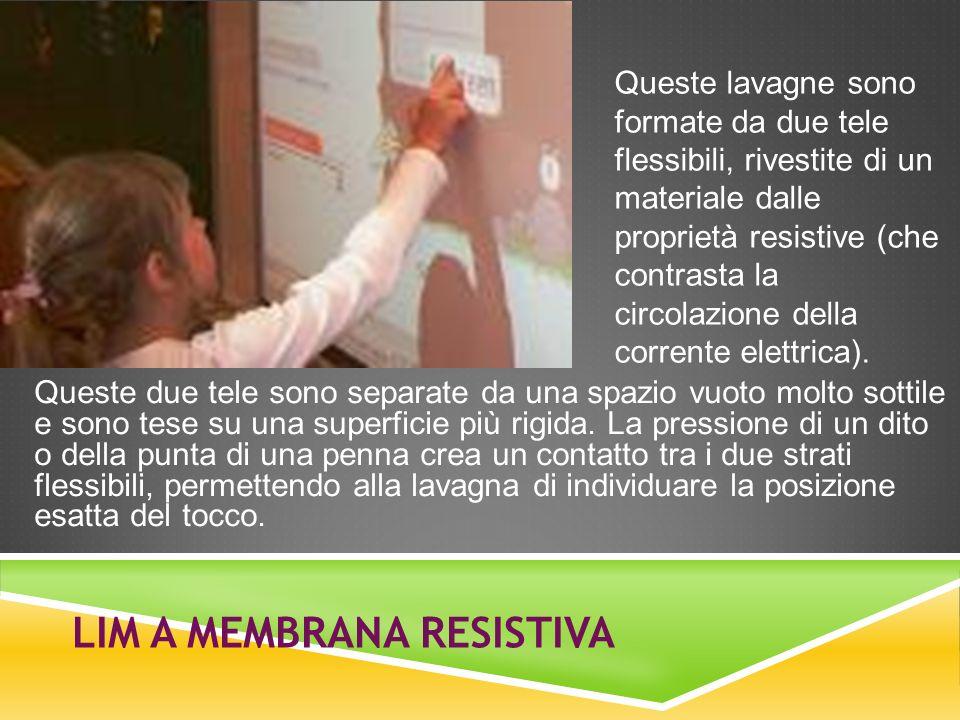 LIM a membrana resistiva