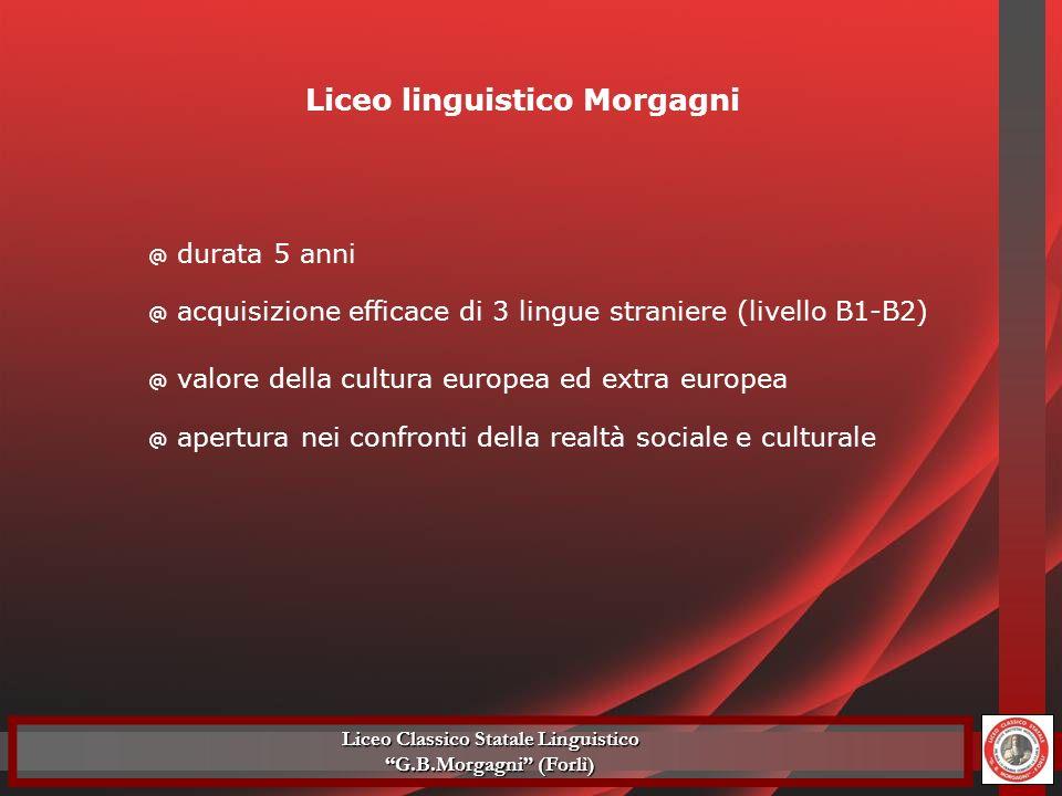 Liceo linguistico Morgagni Liceo Classico Statale Linguistico