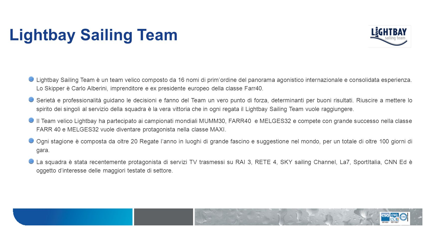 Lightbay Sailing Team