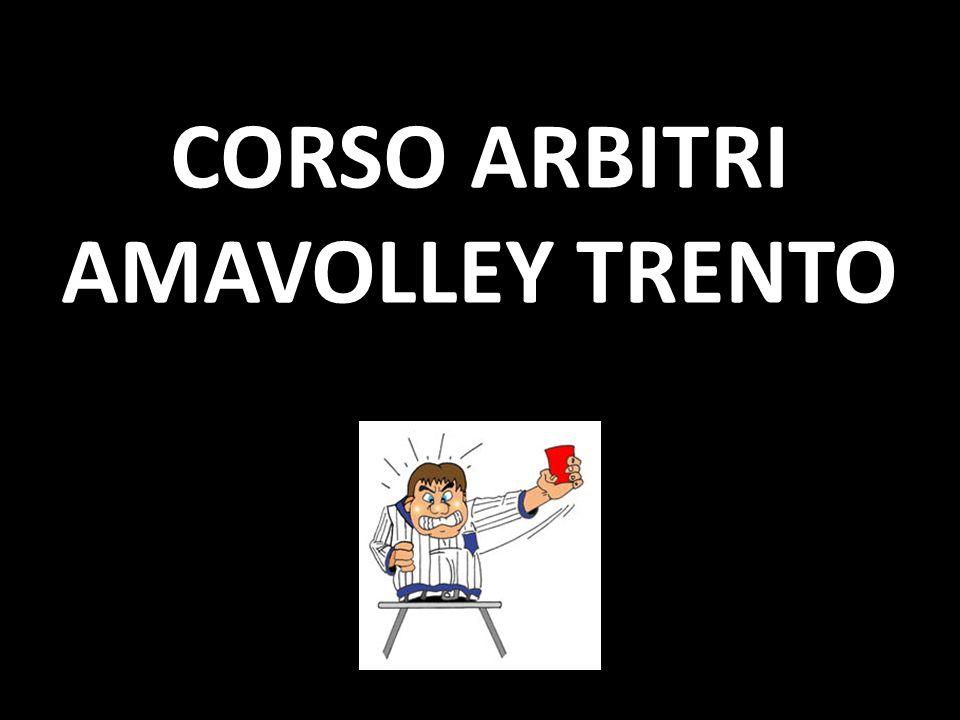 CORSO ARBITRI AMAVOLLEY TRENTO