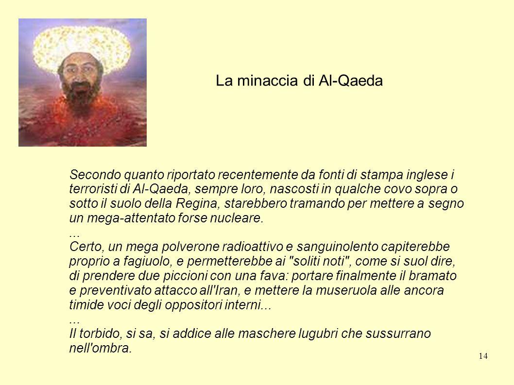 La minaccia di Al-Qaeda