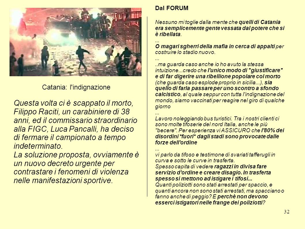 Catania: l indignazione
