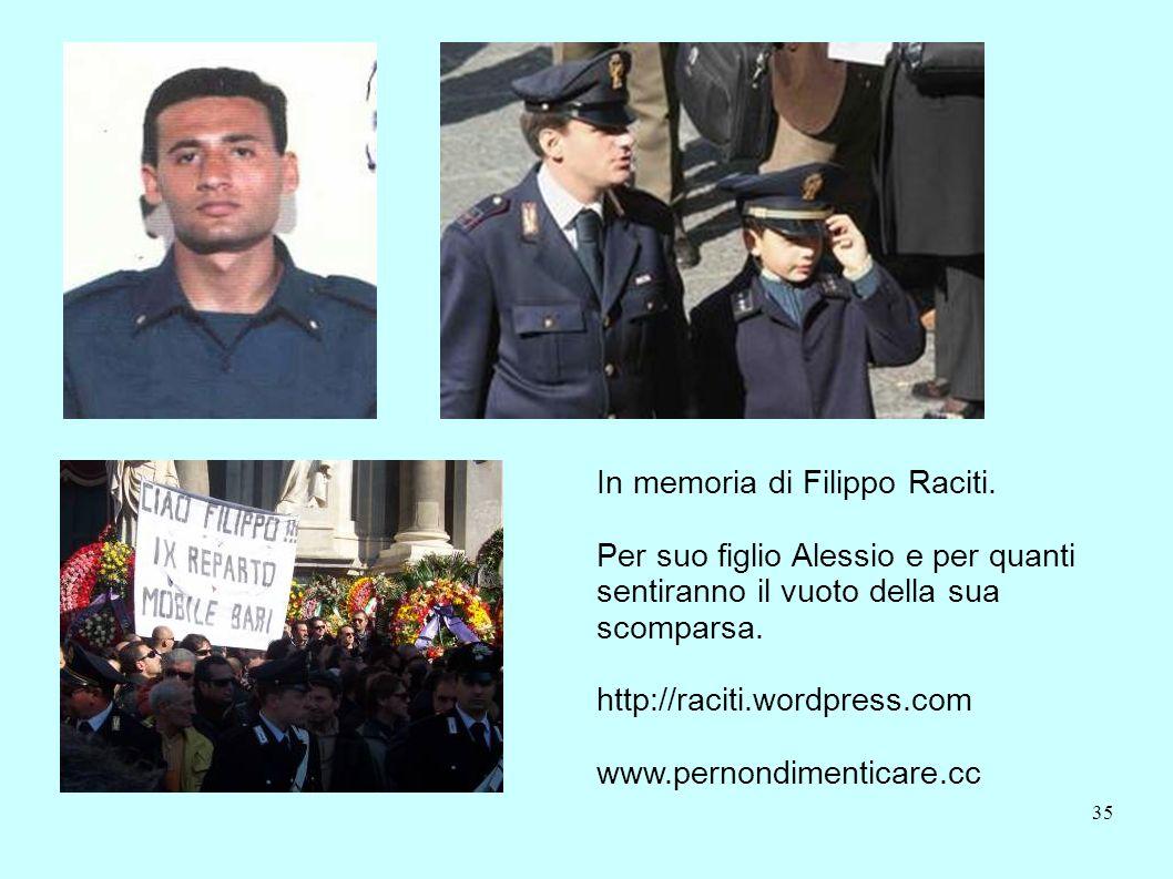 In memoria di Filippo Raciti.