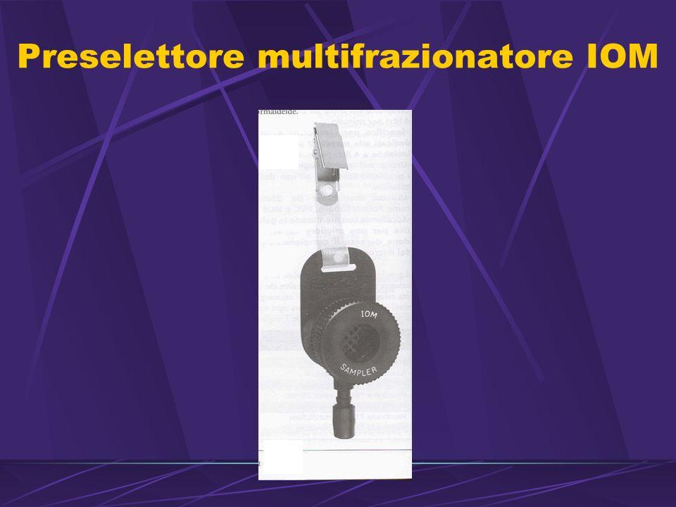 Preselettore multifrazionatore IOM